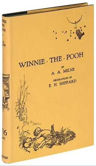 Winnie-the-Pooh is a classic 1926 children's book by English author Alan A. Milne, which tells the stories of Winnie-the-Pooh, a silly bear living in the Hundred Acre Wood with his friends Piglet, Rabbit, Eeyore, Owl and Christopher Robin. It was illustrated by Ernest H. Shepard.