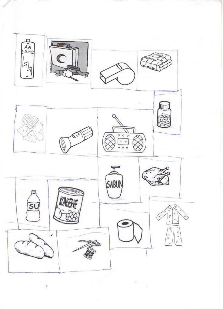 deprem çantası malzemeleri