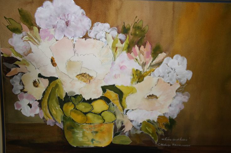 Lime and Roses  Carolyn Mackinnon