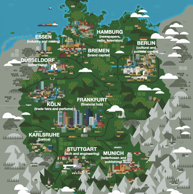 Germany Map - Monocle