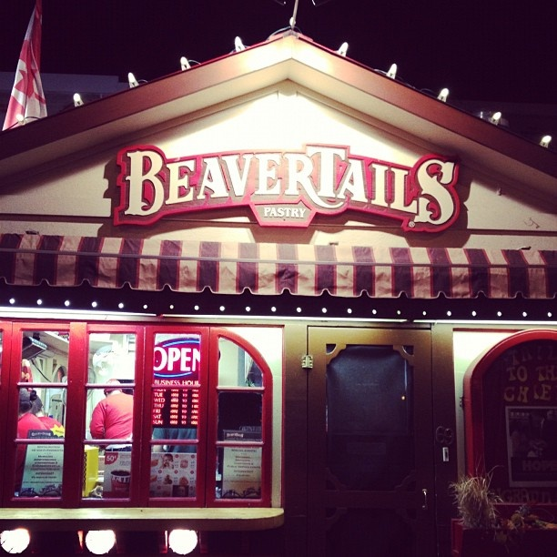 Beaver Tails, located in Byward Market, is a Must Eat while you are hear in Ottawa! #tradition #delicious