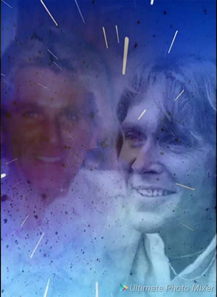 Billy Fury and his brother Albie by Christine Rodbourne.