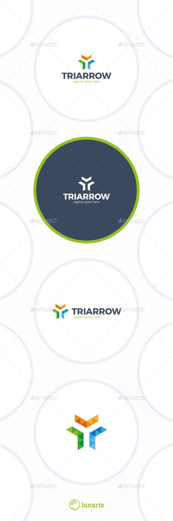 Trinity Arrow Triangle Logo #software #studio  • Download here → https://graphicriver.net/item/trinity-arrow-triangle-logo/13269716?ref=pxcr