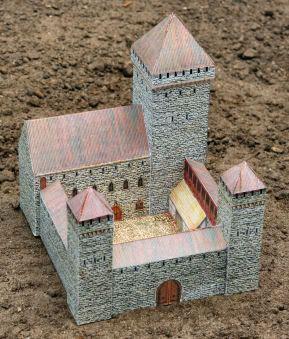 bouwplaat kasteel, gratis download!