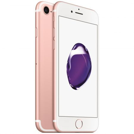 TELEFON MOBIL APPLE IPHONE 7, 128GB, ROSE GOLD – REDUCERE 300 LEI ! + CADOU !