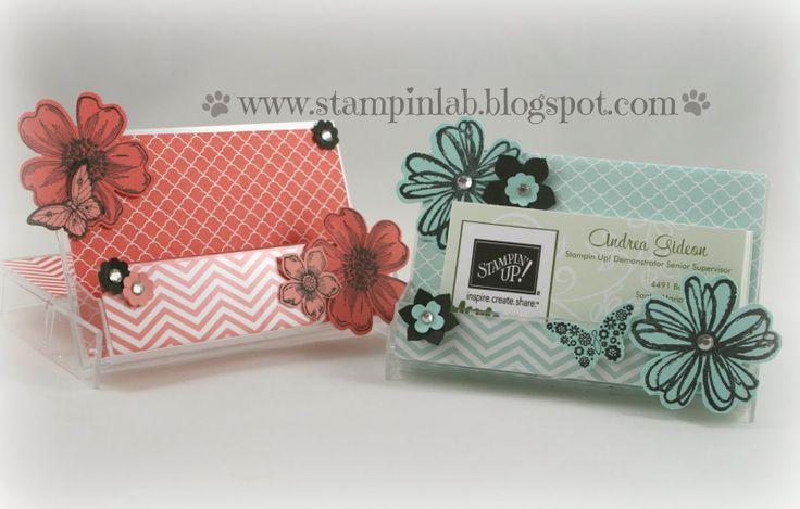StampinLab: Repurpose Cassette Cases. iPhone holder. Business Card Holder. DIY