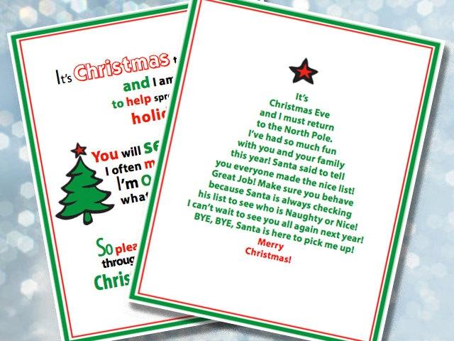 Elf Note Cards, DIY Printable Cards, Elf Notes, Elf Messages. Christmas, Elf on the Shelf, Shelf Elf Notes