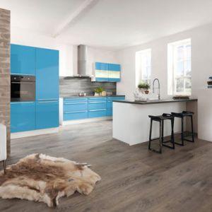 Perfect Hellblaue K che von Wellmann by ALNO Light blue kitchen by Wellmann ALNO