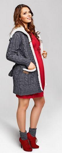 Schwangerschaftskleid Mutterschaft Outfit Winter – Get inspired! Maternity Fas …   – Schwanger Kleidung