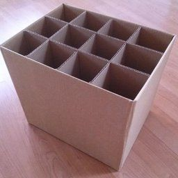 Inverted wine boxes; cover with contact paper?