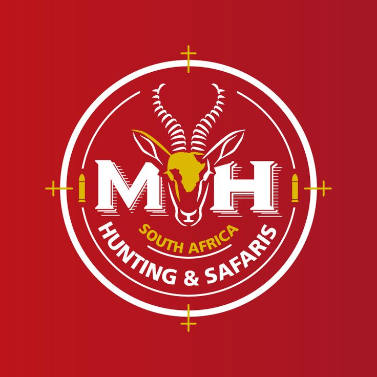 Custom brand identity developed for M&H Hunting Safaris. Developed by The Logo Studio