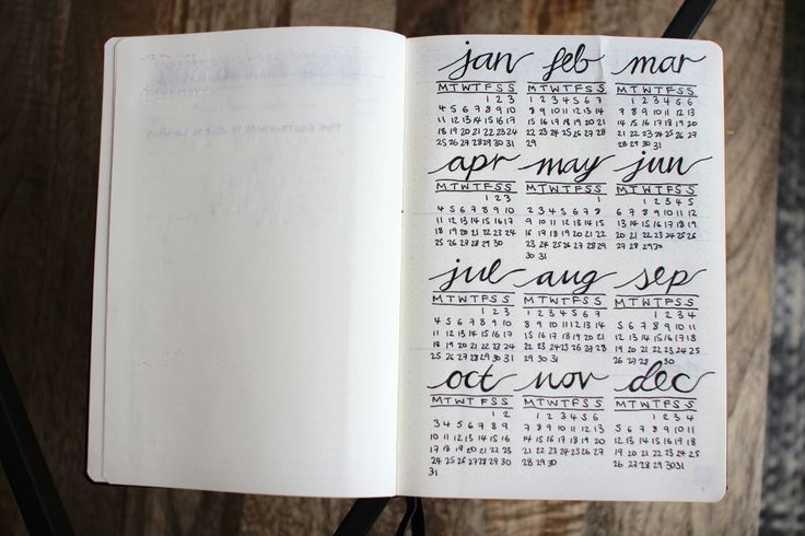 STARTING MY BULLET JOURNAL – Lily Pebbles