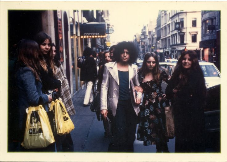 Marc Bolan fan photo, April 9, 1974.
