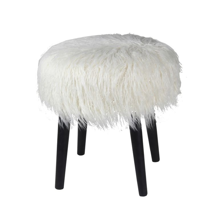 15 best furry ottoman for guy images on pinterest faux fur