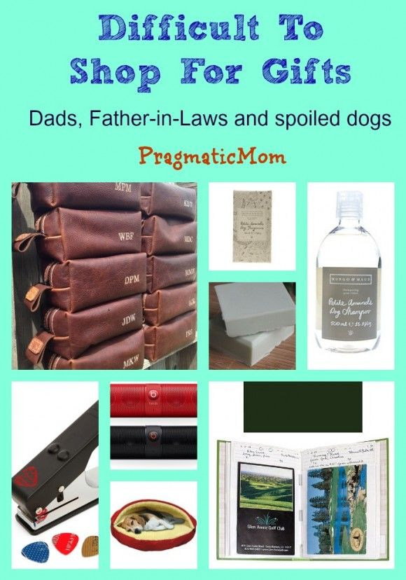 Father-in-Law and Pet Gift Ideas for Day 4 (Difficult to Shop For Gifts) :: PragmaticMom and @jeanettenyberg