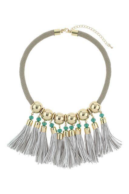 12 Tassel Necklaces With Loads Of Fringe Benefits #refinery29  http://www.refinery29.com/tassel-necklaces#slide-12  ...