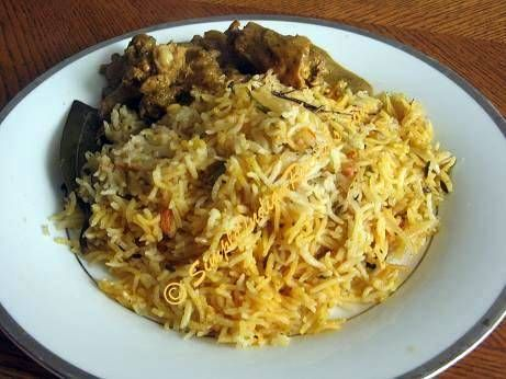 Khuska Biryani - Kuska Biriyani | Simple Indian Recipes