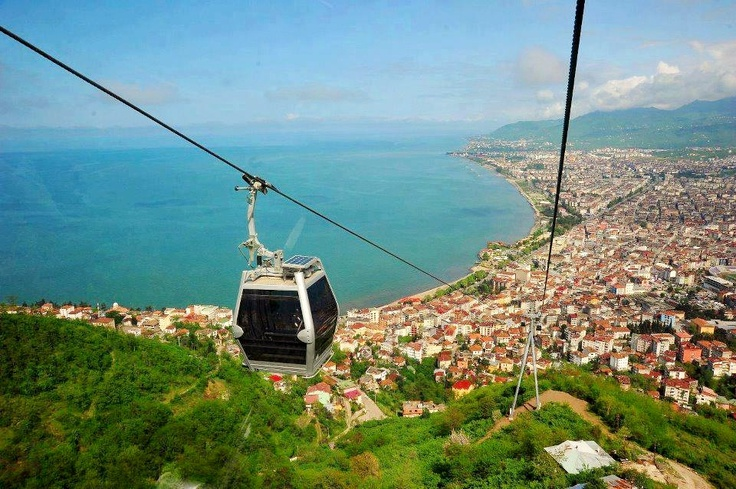 Poma Cable Car!   Ordu, Turkey