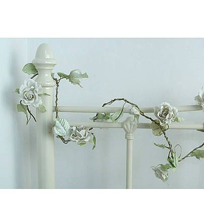 paper flower garland by lavender room | notonthehighstreet.com