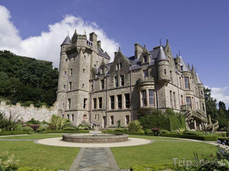 Fotka, Foto Severní Irsko - hrad v Belfastu (Velká Británie)
