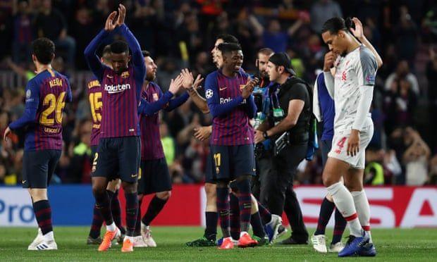Messi Pone Al Barcelona Con Un Pie En La Final De La Champions Lionel Messi Liverpool Champions League Liverpool Players