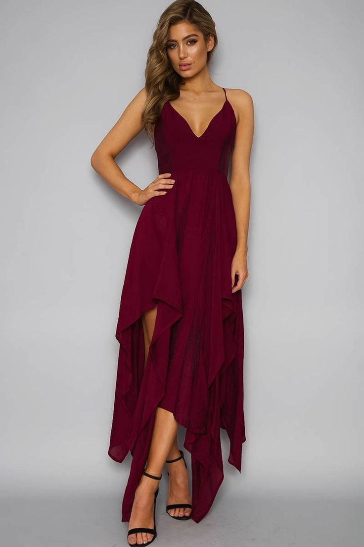 Vixens Heroines Dress- Maroon