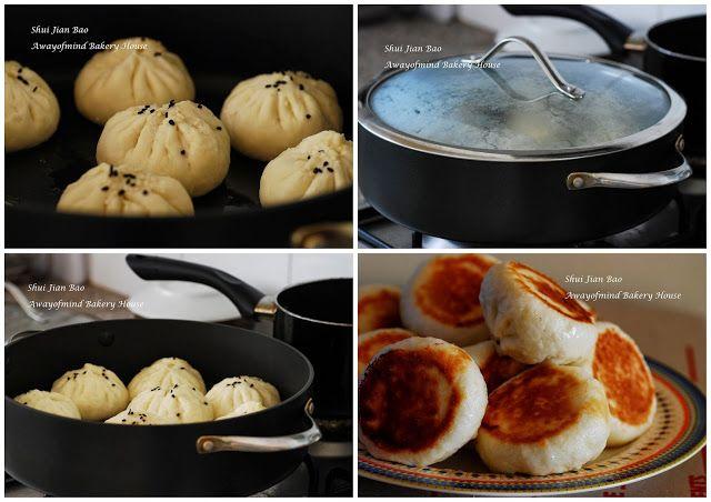 Awayofmind Bakery House: Shui Jian Bao / Sheng Jian Bao (Pan-Fried Pork Bun 水煎包 / 生煎包)