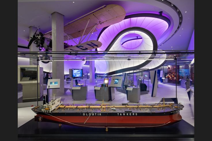 Zaha Hadid Architects' Maths Gallery at the Science Museum