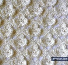 This is a MyPicot pattern, but not from her site.