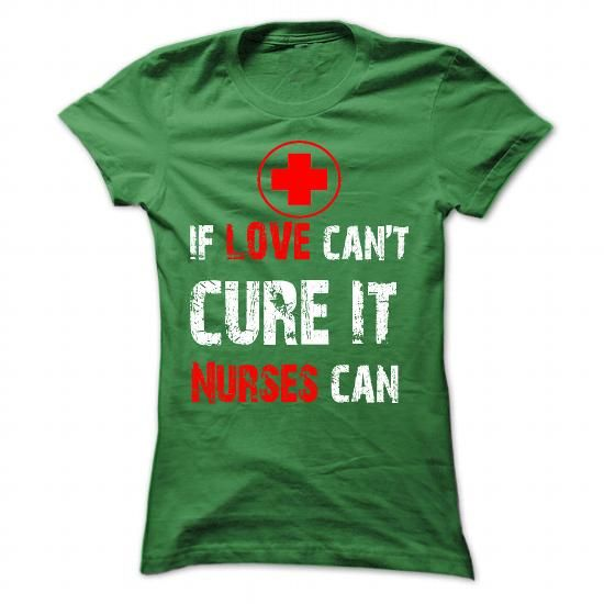 If love cant curse it. Nurses can - #gifts for guys #inexpensive gift. MORE INFO => https://www.sunfrog.com/Jobs/If-love-cant-curse-it-Nurses-can-Ladies.html?60505