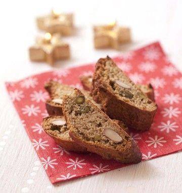 Photo de la recette : Croquants aux amandes pistaches et noisettes d'Agathe – Le Meilleur pâtissier saison 2