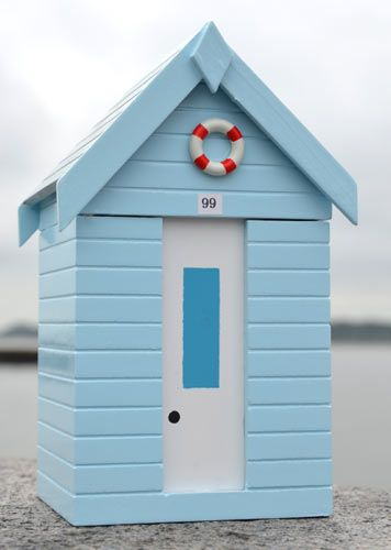 Build a beach hut as a garden shed/pottery studio