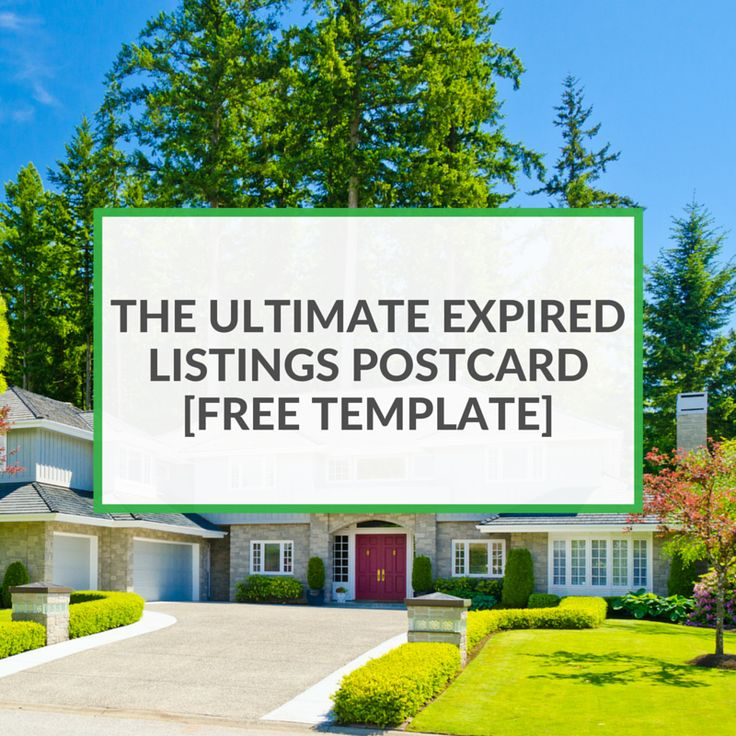 Real Estate Template%0A Expired listings are a great  potential  source of clients   After all     Real  Estate