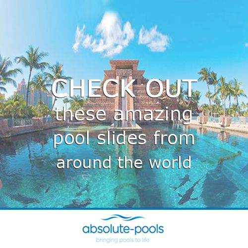 We love pool slides! Don't you?   Check out these incredible pool slides:  http://bzfd.it/1seLAKP  #absolutepools #MyDubai #UAE