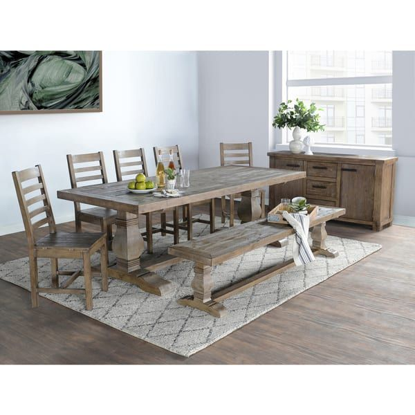 Kasey Reclaimed Wood Dining Table By Kosas Home Solid Wood
