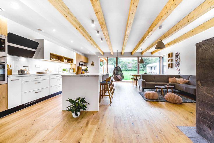 Kuchyně / Kitchen / SLIM WHITE / DUB KAMENNÝ / SRDCE DOMU. CENTRUM RODINY.