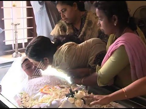 Funeral of Shan Johnson in Thrissur