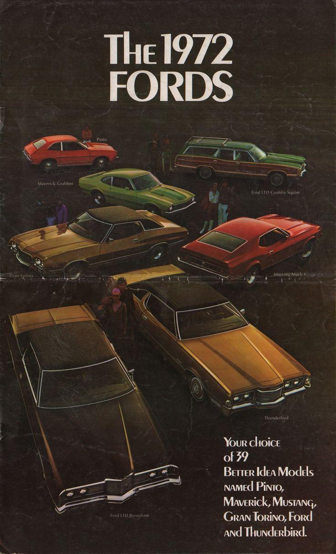 1972 Ford Sales Brochure