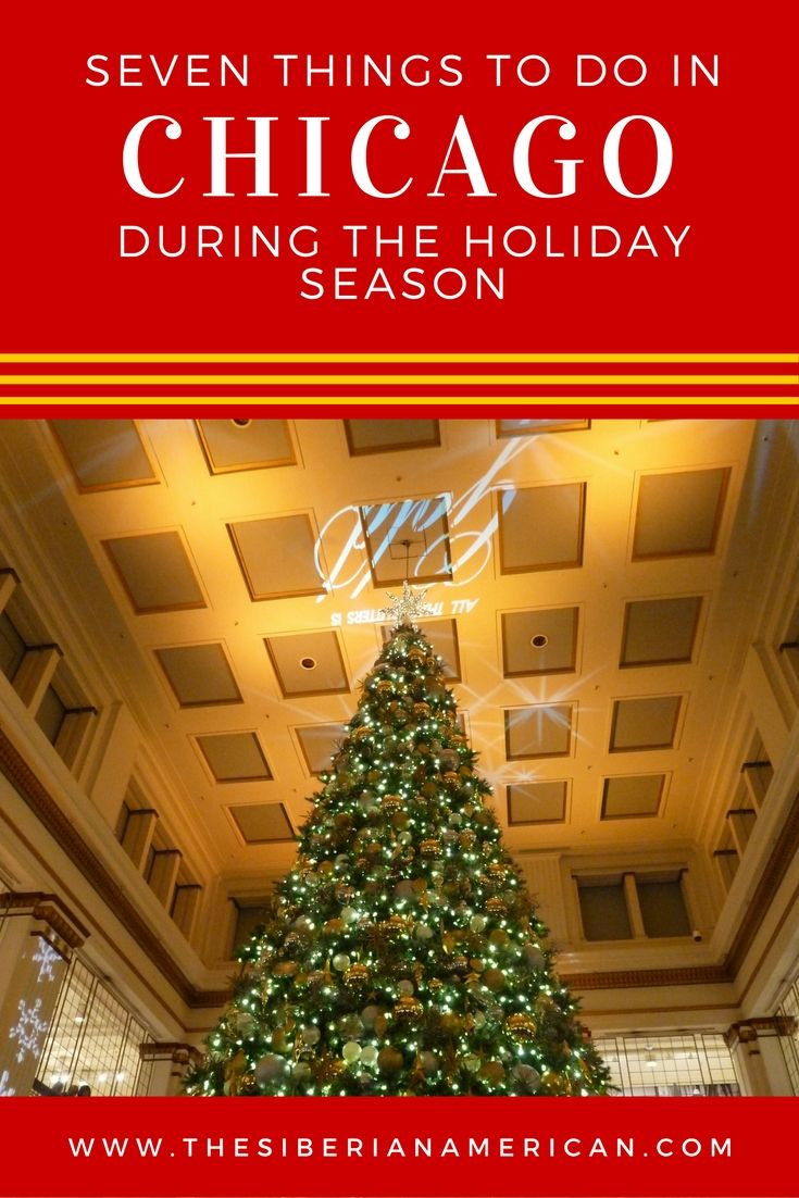 Seven Things to do in Chicago during the holiday season?