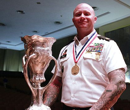 NRA Pistol Champ Patrick Franks goes from Guard to Marines to Army Marksman