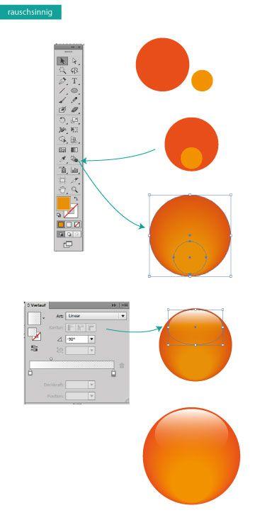 Licht und Schatten  #Design #Tutorial #Zeichnen #Adobe #Illustrator #Typografie www.rauschsinnig.de