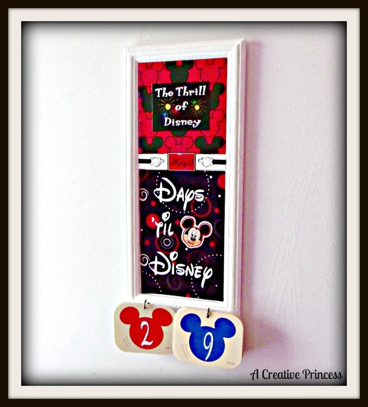 Disney Cruise Countdown - if only I could tell the kids now :)