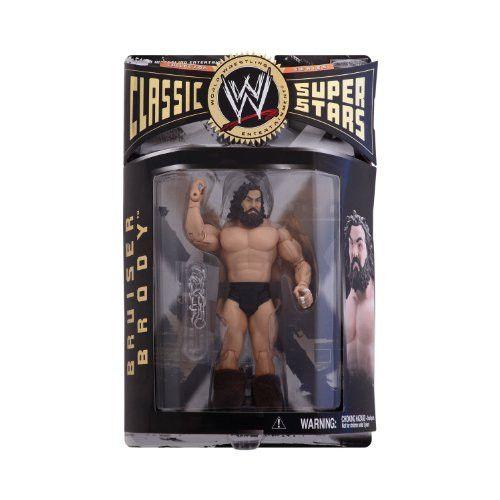 WWE Jakks Pacific Wrestling Classic Superstars Series 8 Action Figure Bruiser Brody