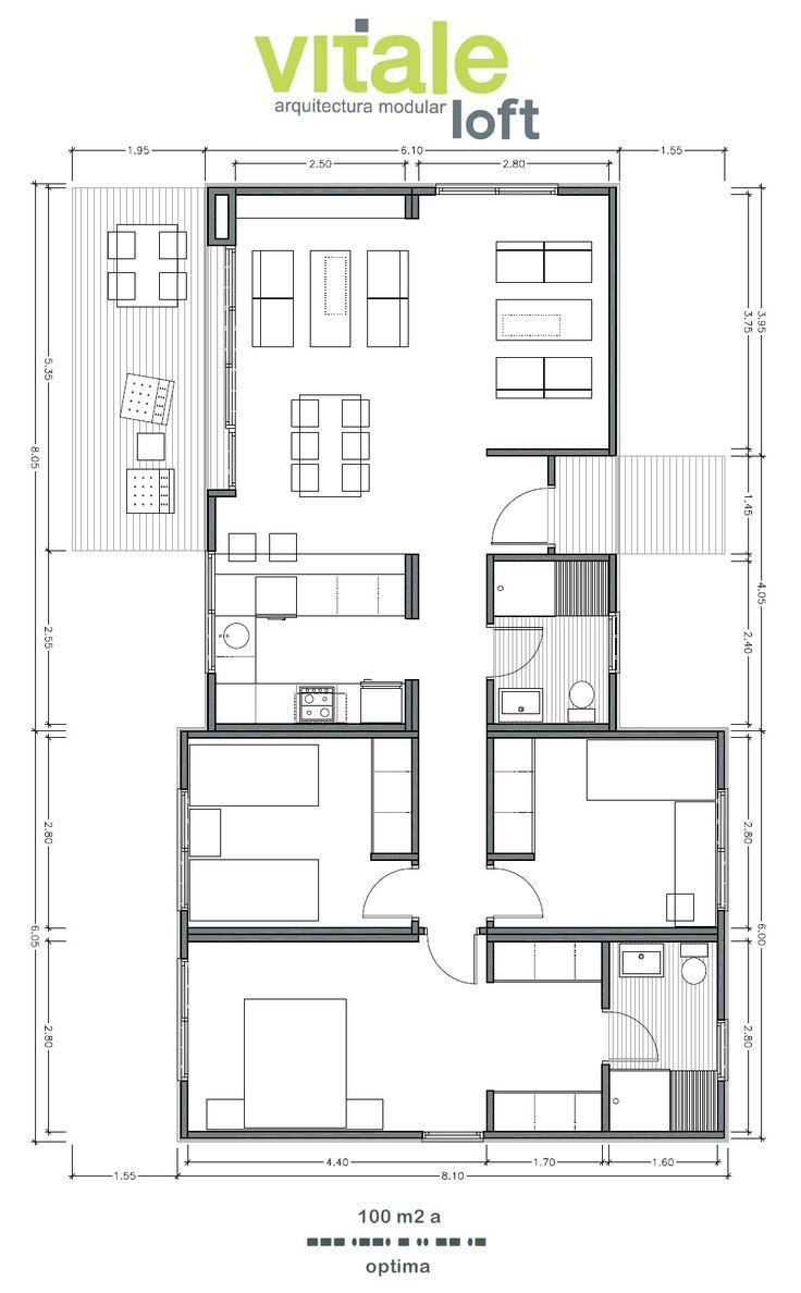 Las 25 mejores ideas sobre plantas arquitectonicas en for Casa vivienda jardin pdf