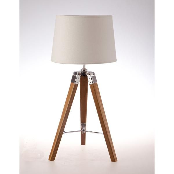Tripod Table Lamp - Natural – Click Online Sales