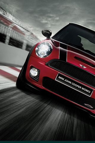 Red Mini cooper....pretty similar to the one I ordered....love it- a great car to drive and fun