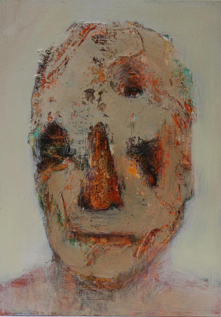 'Memory and Identity' mixed media on board 47cm x 35cm. Artist: Bren Head.