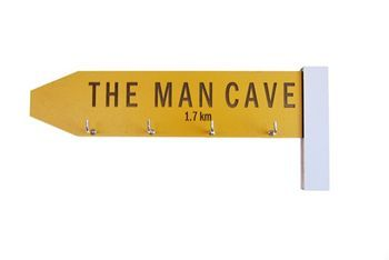 The Man Cave key holder...so cool!