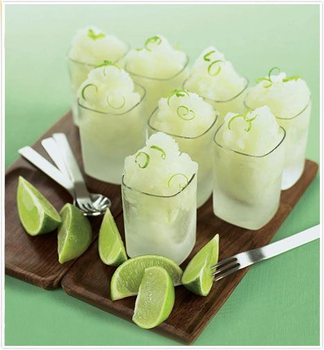 Lime Granita | A Little Thought for Food