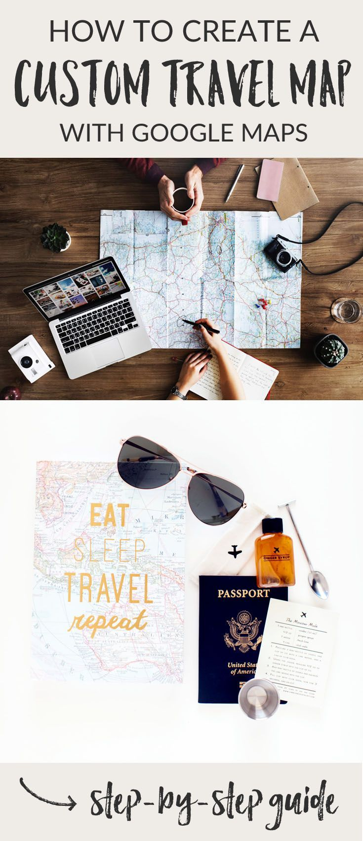 The ultimate guide to planning a trip with Google My Maps | how to create a custom map | road trip planning | travel tips and organization | how to use Google My Maps to plan a trip itinerary | summer travel | United States road trips | Google Maps trip planner #roadtrip #roadtripusa #traveltips via @roamtheamericas